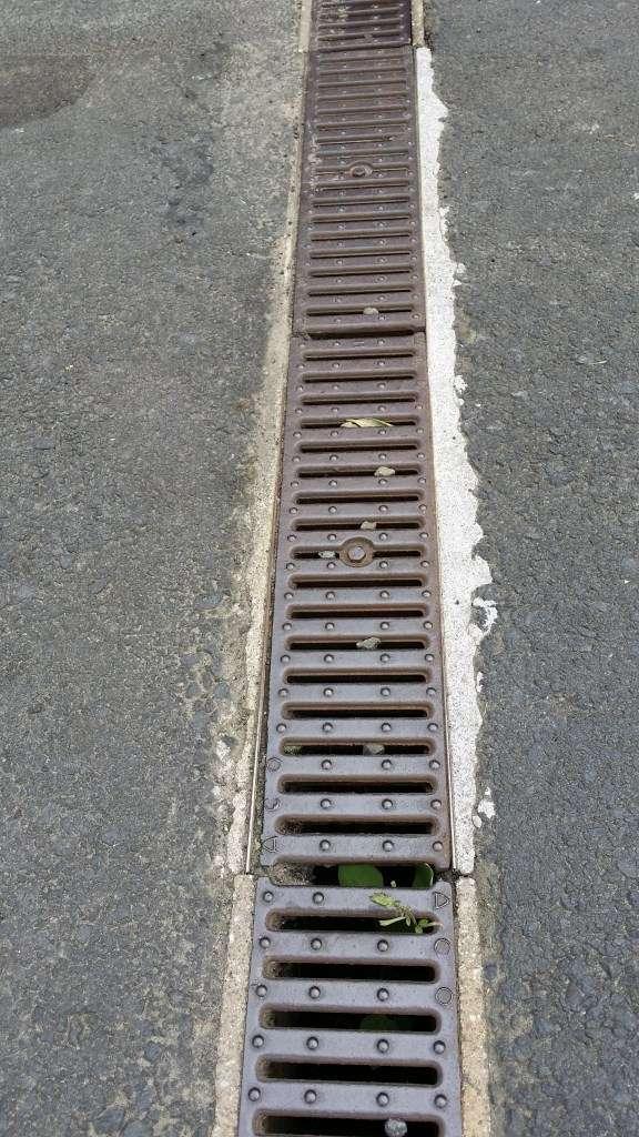 Thundaflo installation replacing damaged poly modular for Types of drainage
